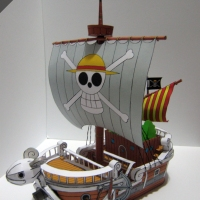 One Piece - Going Merry ( Papercraft)